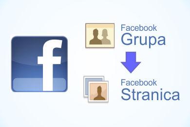 Migracija sa Facebook grupe na Facebook stranicu